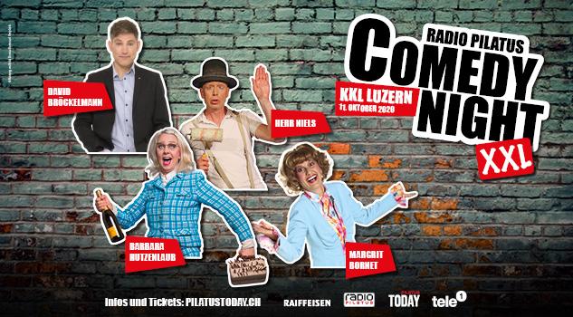 Radio Pilatus Comedy Night 2019/2020 im KKL Luzern